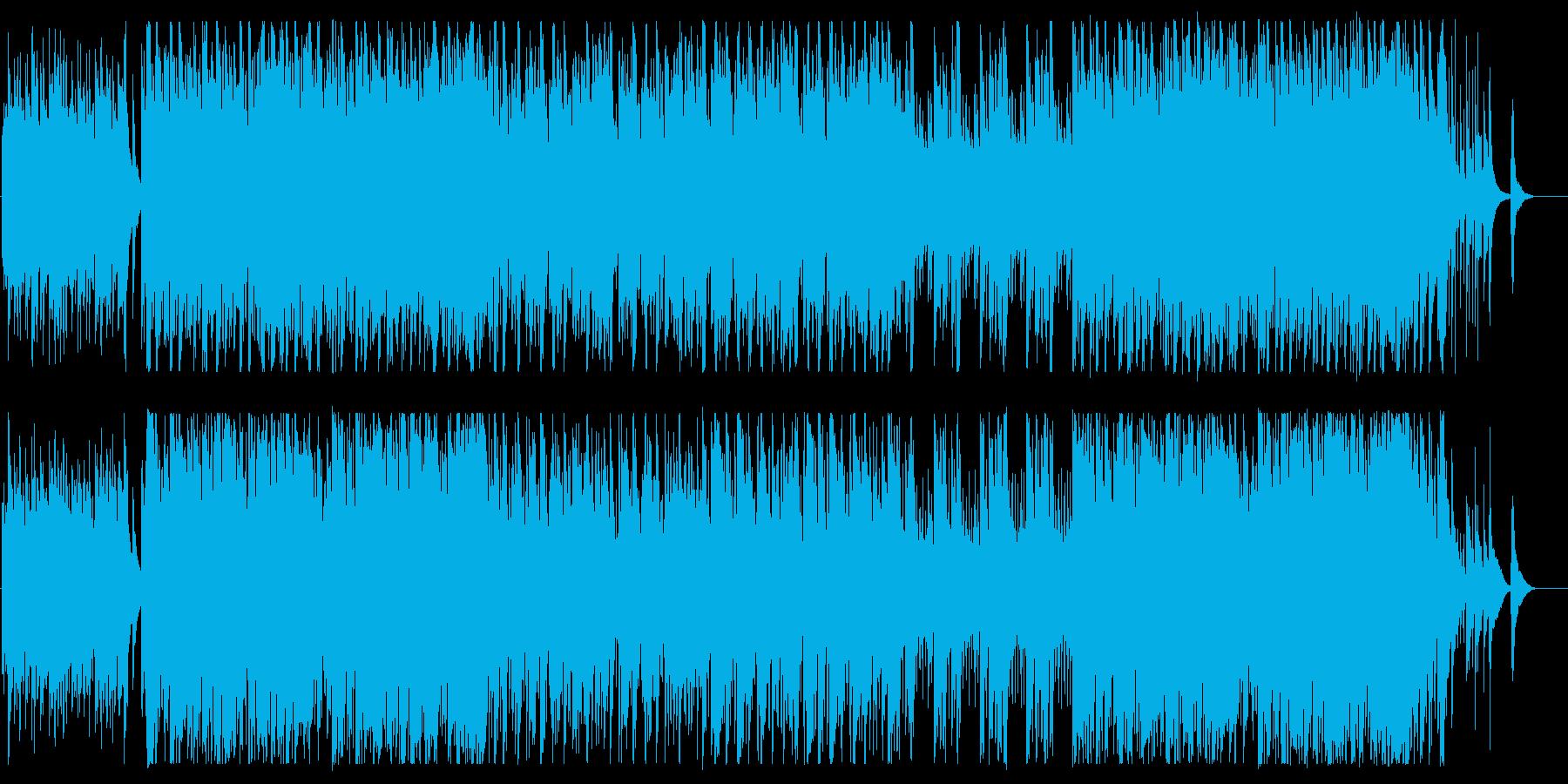 迫力とドラマ感のある管弦楽器サウンドの再生済みの波形
