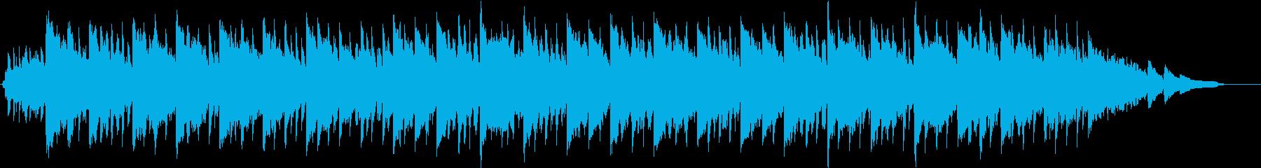 幻想的なハイブリッドエレクトロサウンドの再生済みの波形