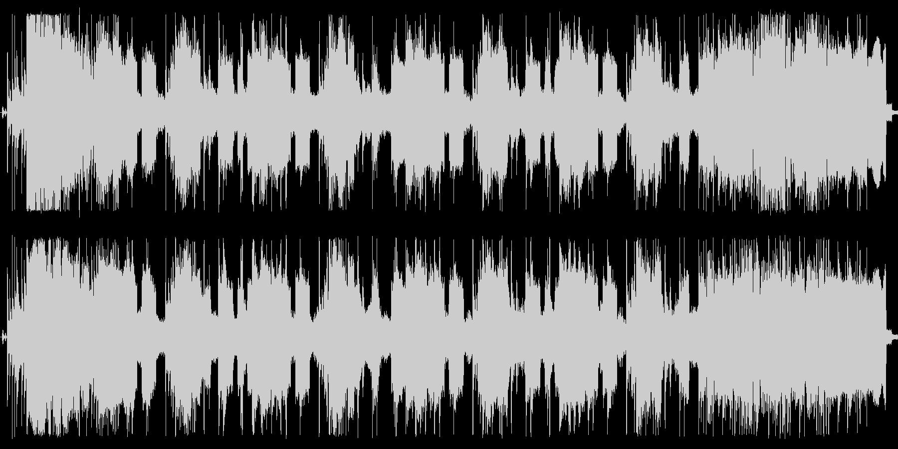 シンプルなインストナンバーで。の未再生の波形