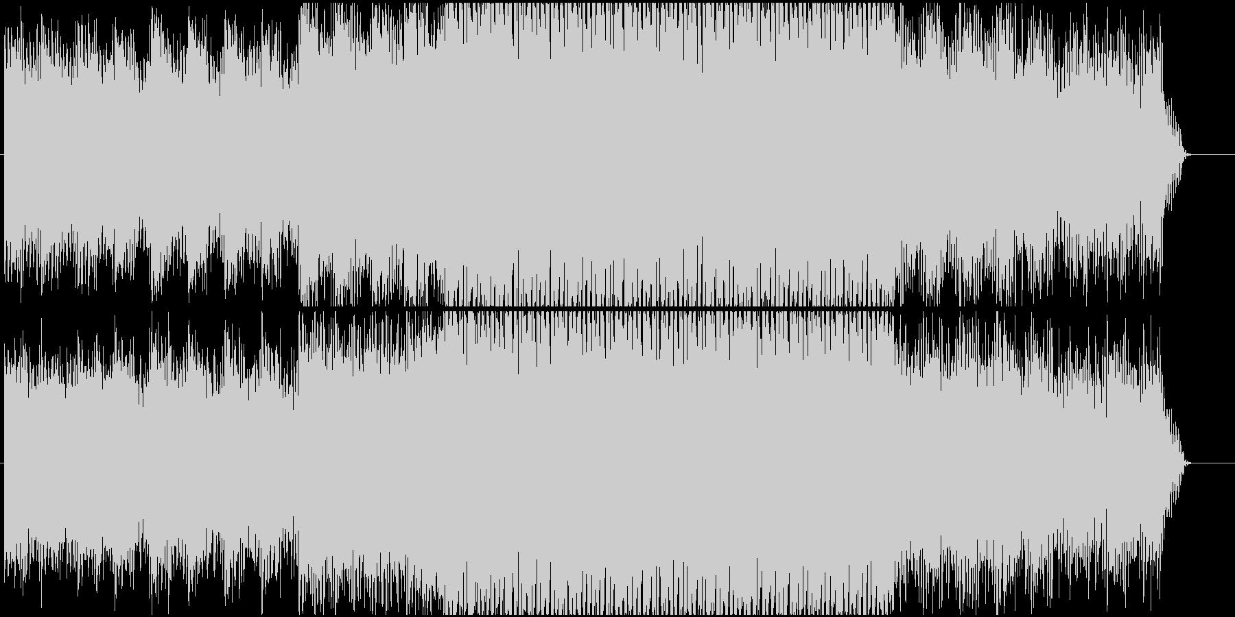 ノリの良い爽やかなエレクトロになります。の未再生の波形