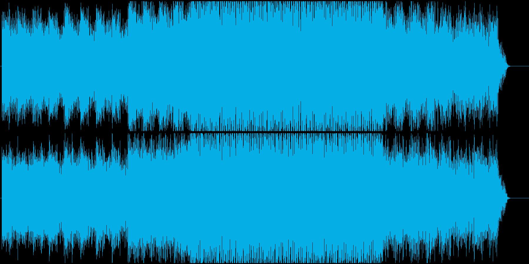 ノリの良い爽やかなエレクトロになります。の再生済みの波形