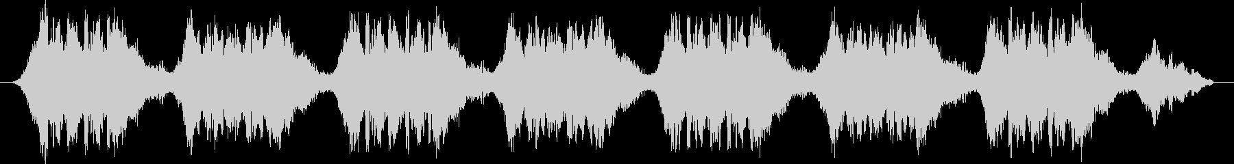 緊急自動車サイレン音 タイプAの未再生の波形