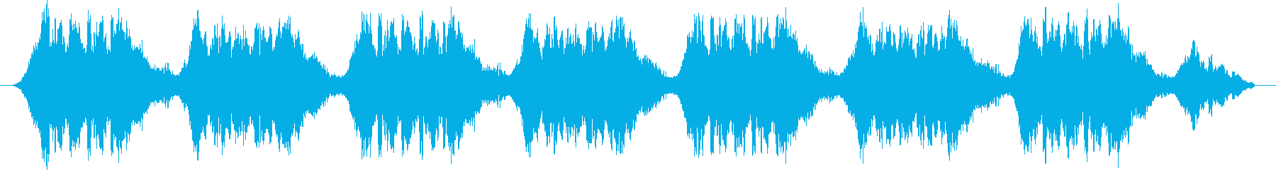 緊急自動車サイレン音 タイプAの再生済みの波形