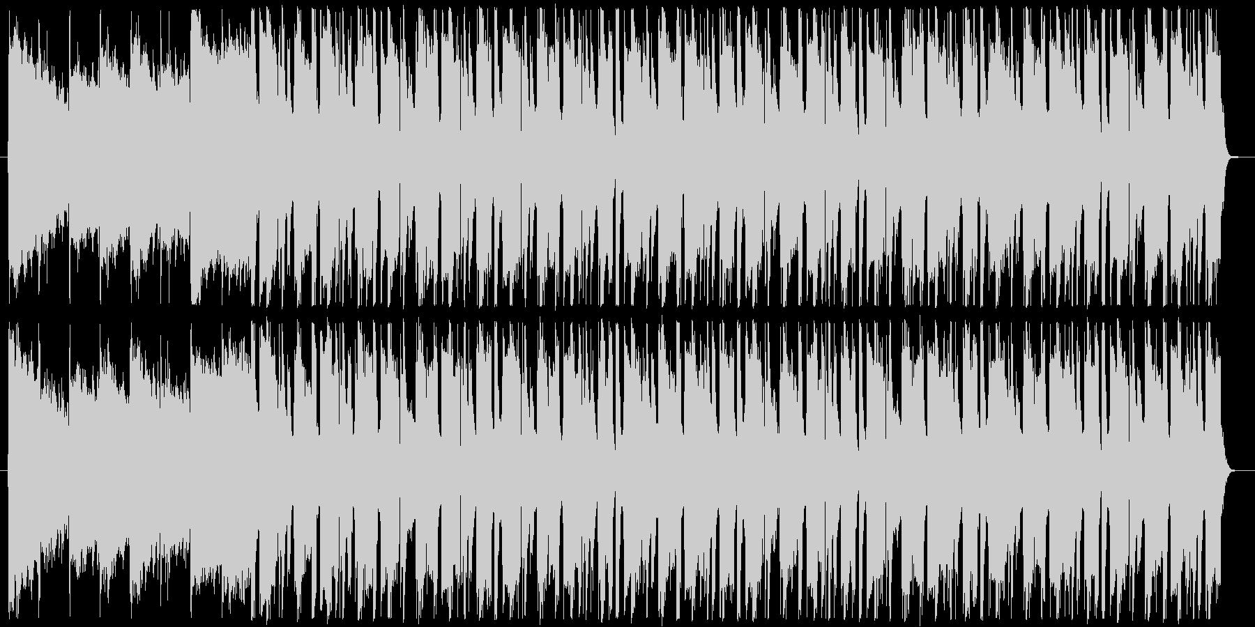 クラブ系ジャズピアノのBGMの未再生の波形