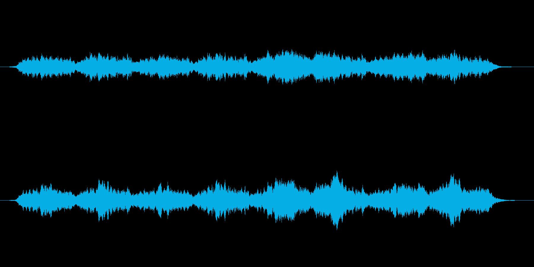 幻想的で暖かみのあるアンビエントの再生済みの波形