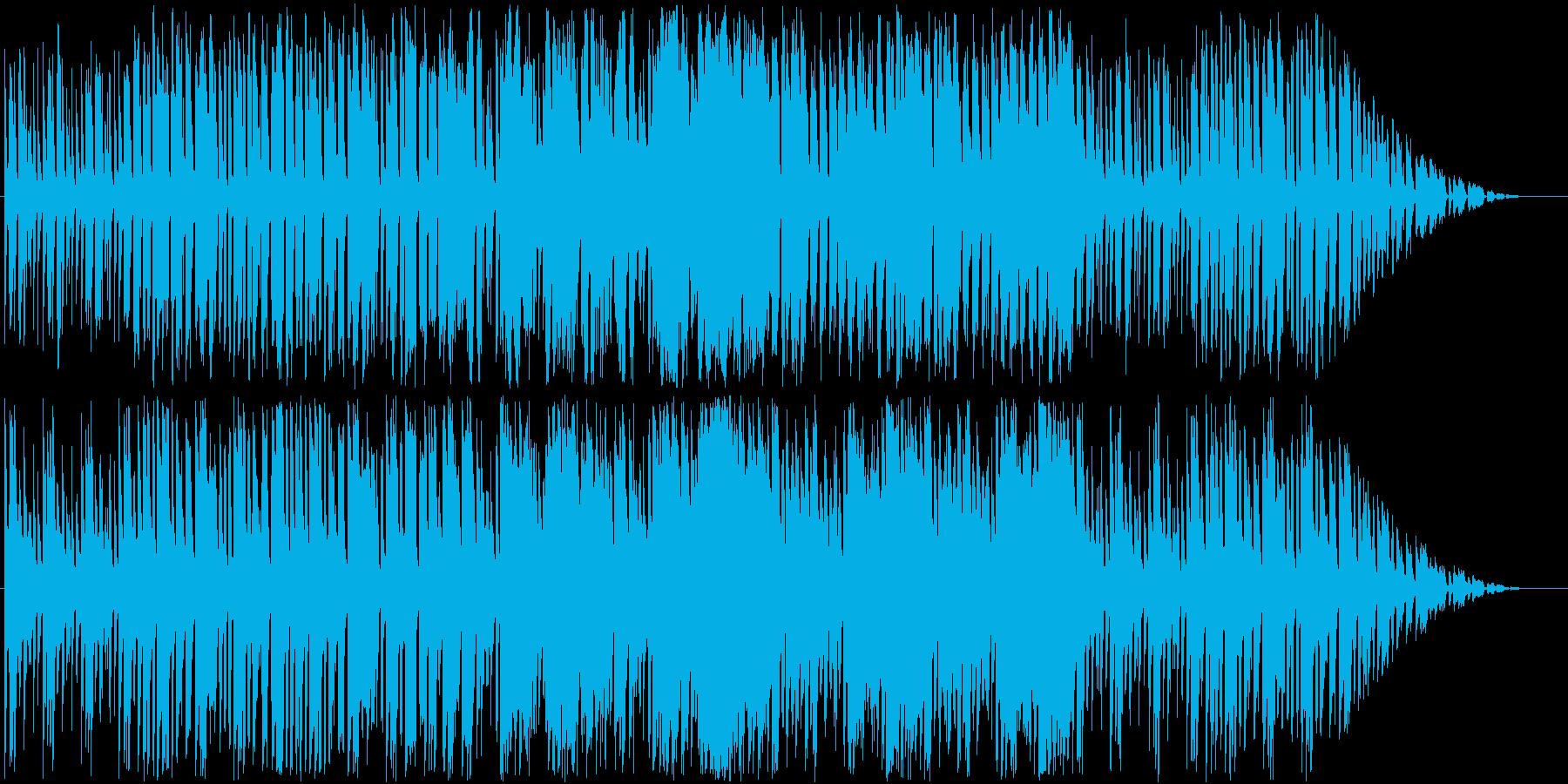 よく晴れた日に体を動かすイメージのBGMの再生済みの波形