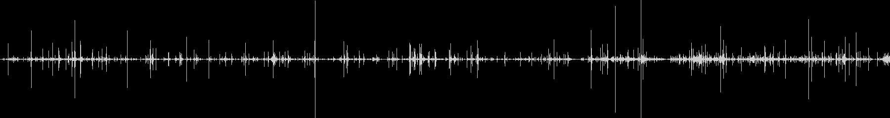 ループ・ネバネバしたものがうごめく音2の未再生の波形