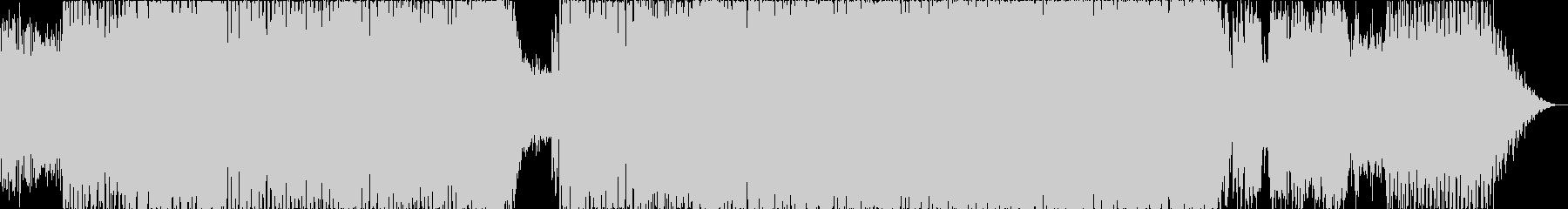ノリノリが止まらないダンスミュージックの未再生の波形