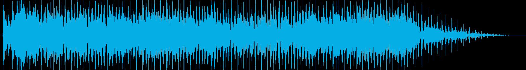 キラキラニャンニャンポップなバンドの再生済みの波形