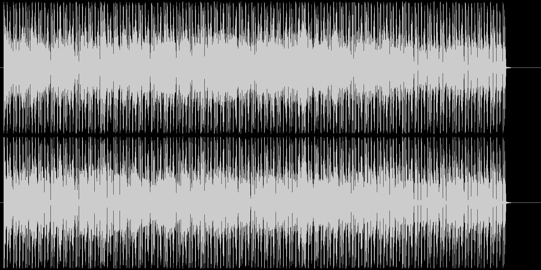 慌ただしい にぎやか ほのぼの さわやかの未再生の波形