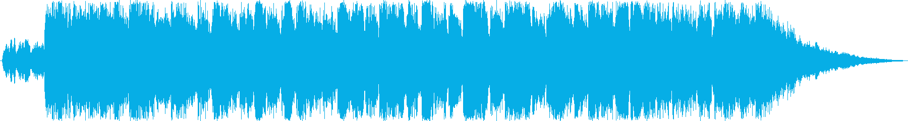 悲しいバッドエンドの再生済みの波形