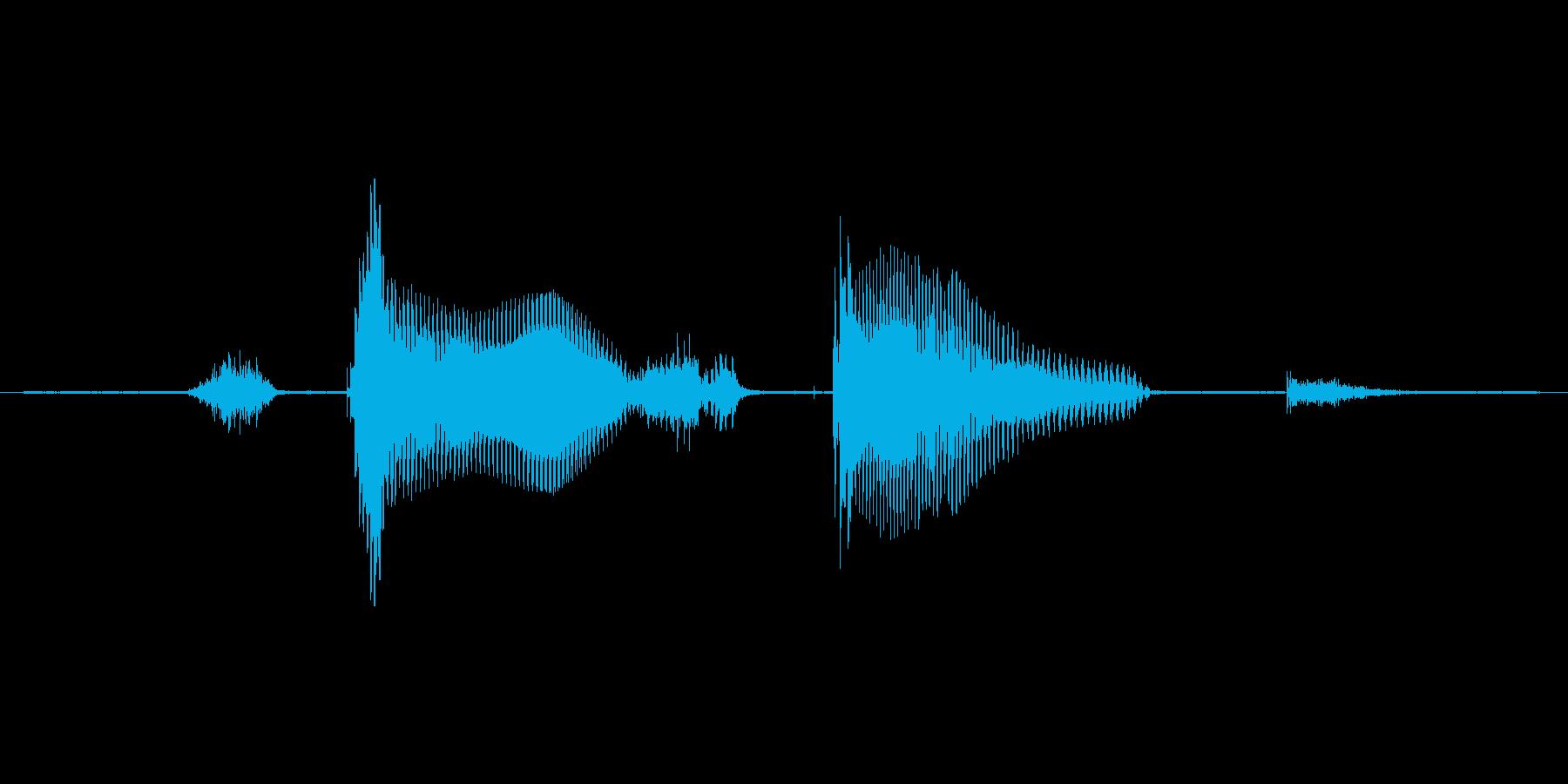 ステージ8(えいと)の再生済みの波形