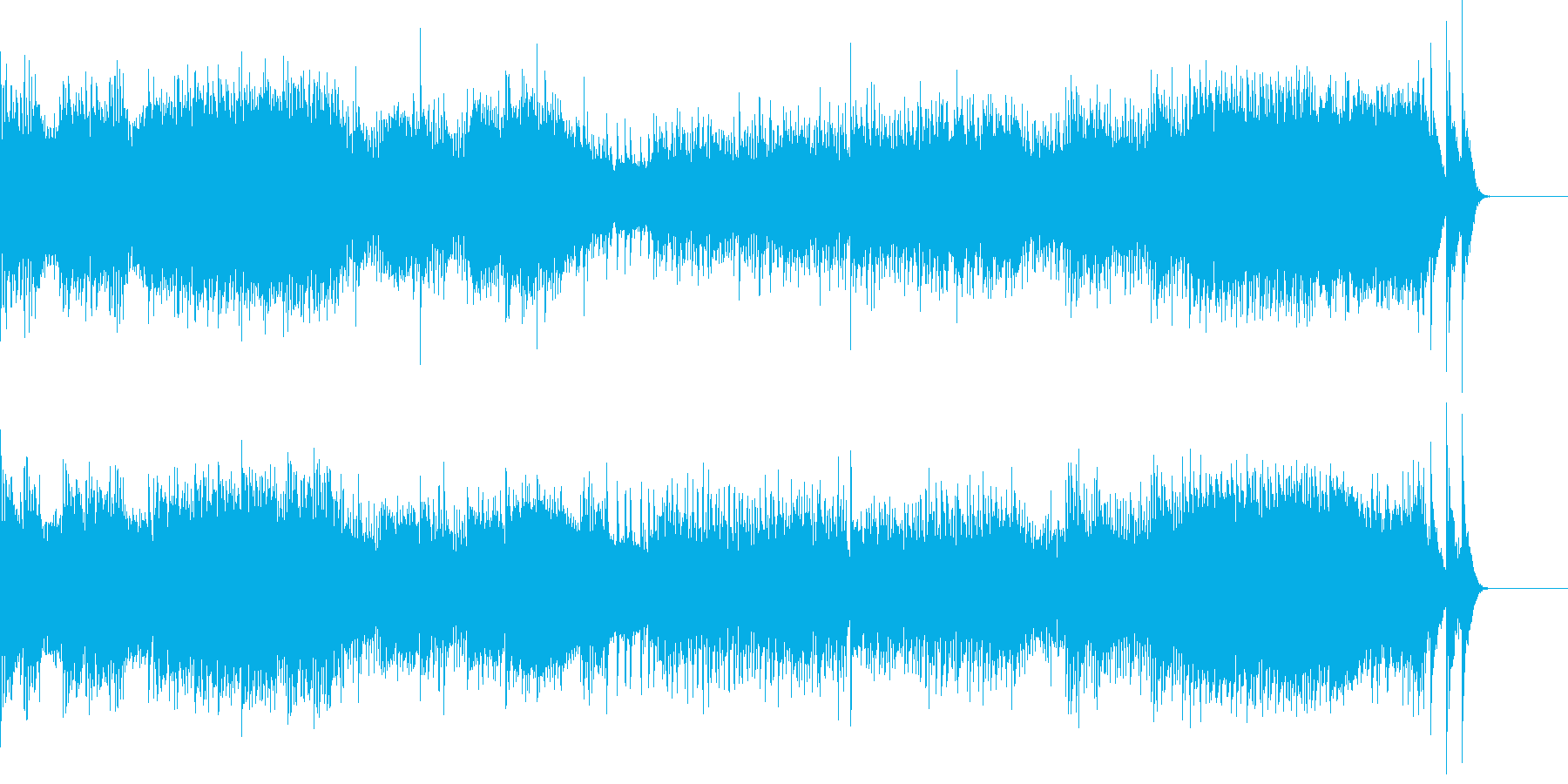 ラフマニノフ シンフォニックダンスよりの再生済みの波形