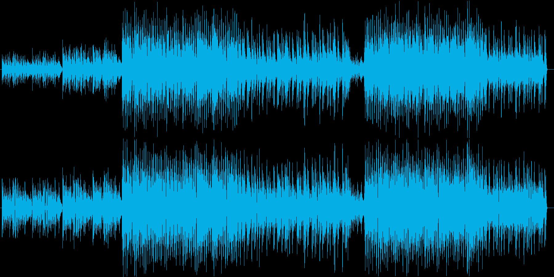 ギターとストリングスの美しいBGMの再生済みの波形