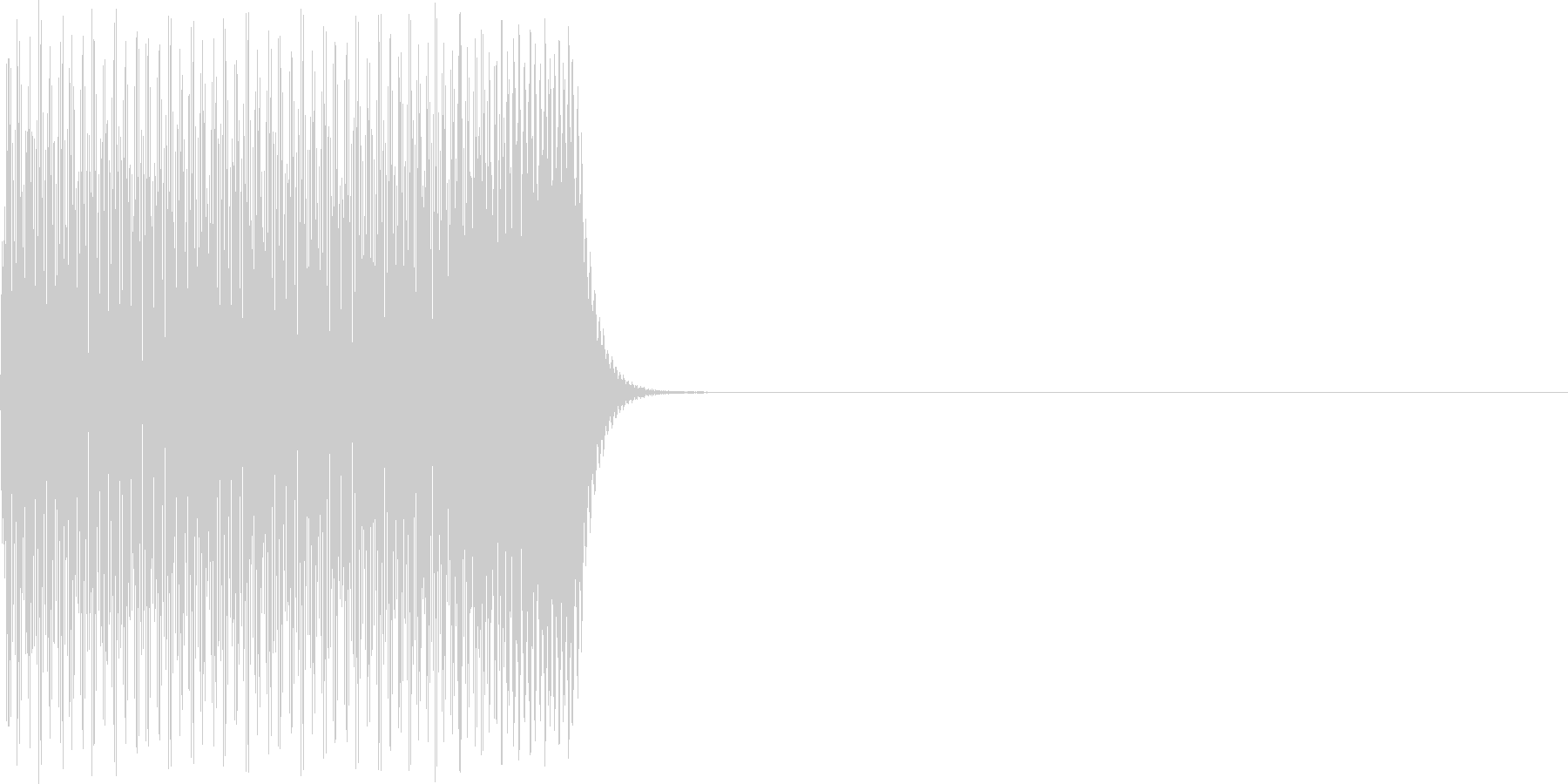 ポコーン(click_024_ボタン)の未再生の波形