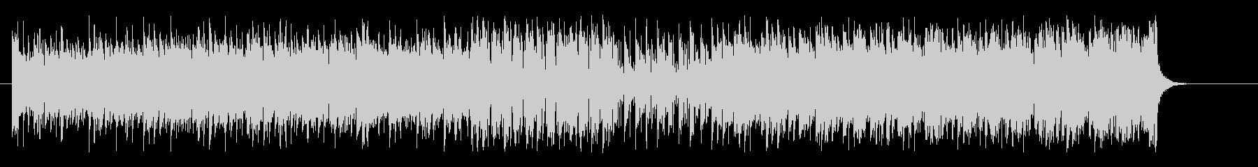 リズミカルなマイナーエレクトロシャッフルの未再生の波形