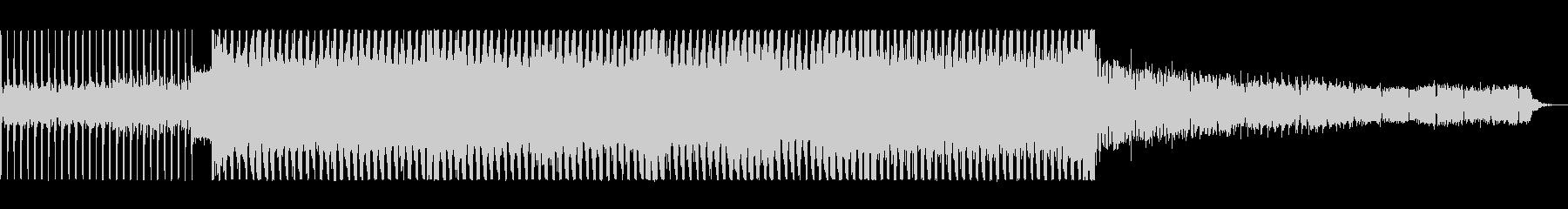 レトロなユーロ系ディスコ・リバイバルの未再生の波形