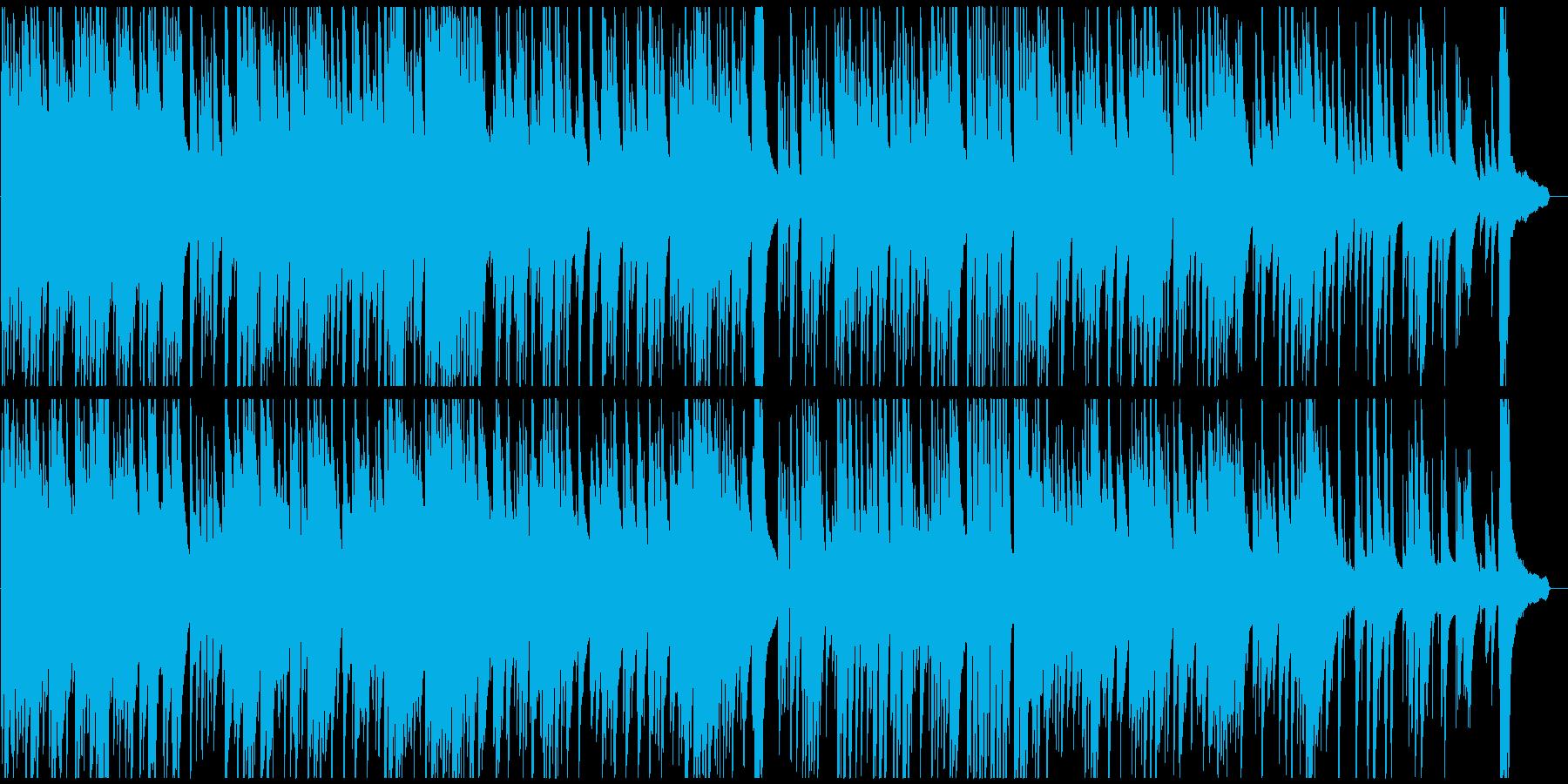 夏をイメージした哀愁感のあるピアノ曲の再生済みの波形