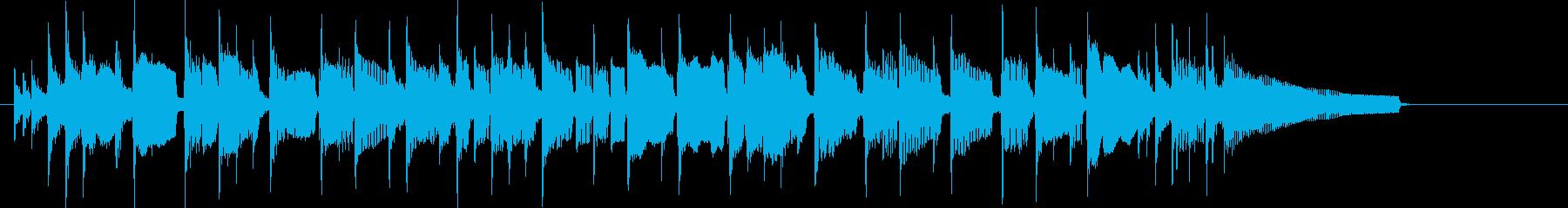 ちょっと一息、ブレイクタイムなジングル…の再生済みの波形