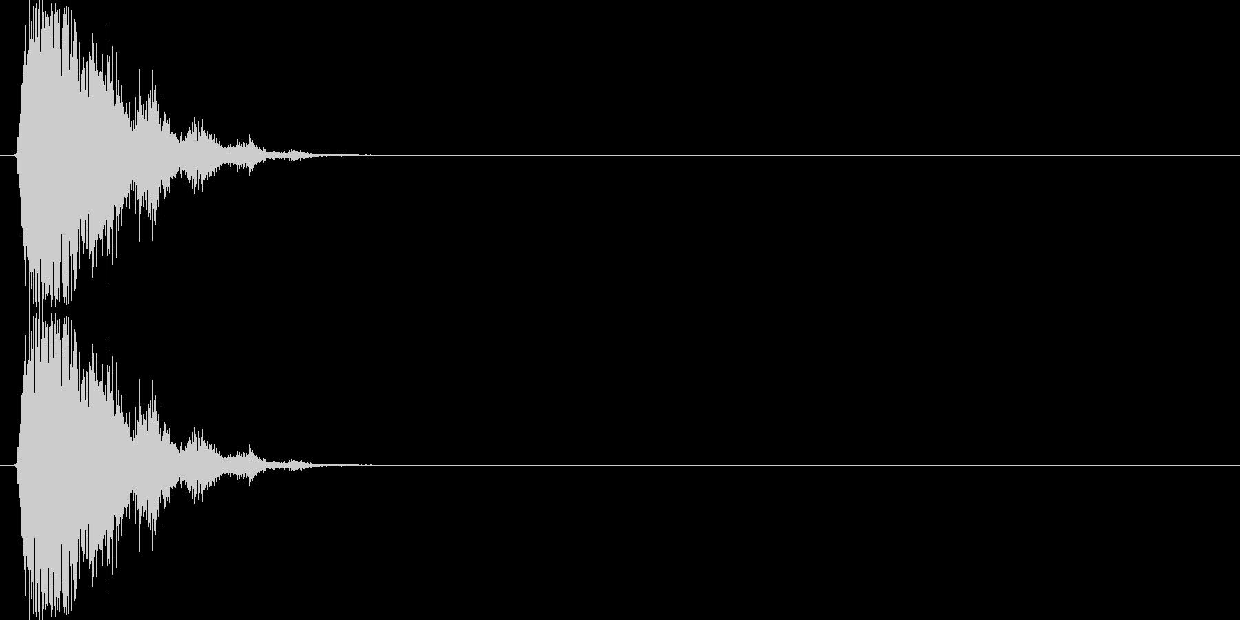 シュバババッ(場面転換、移動)の未再生の波形