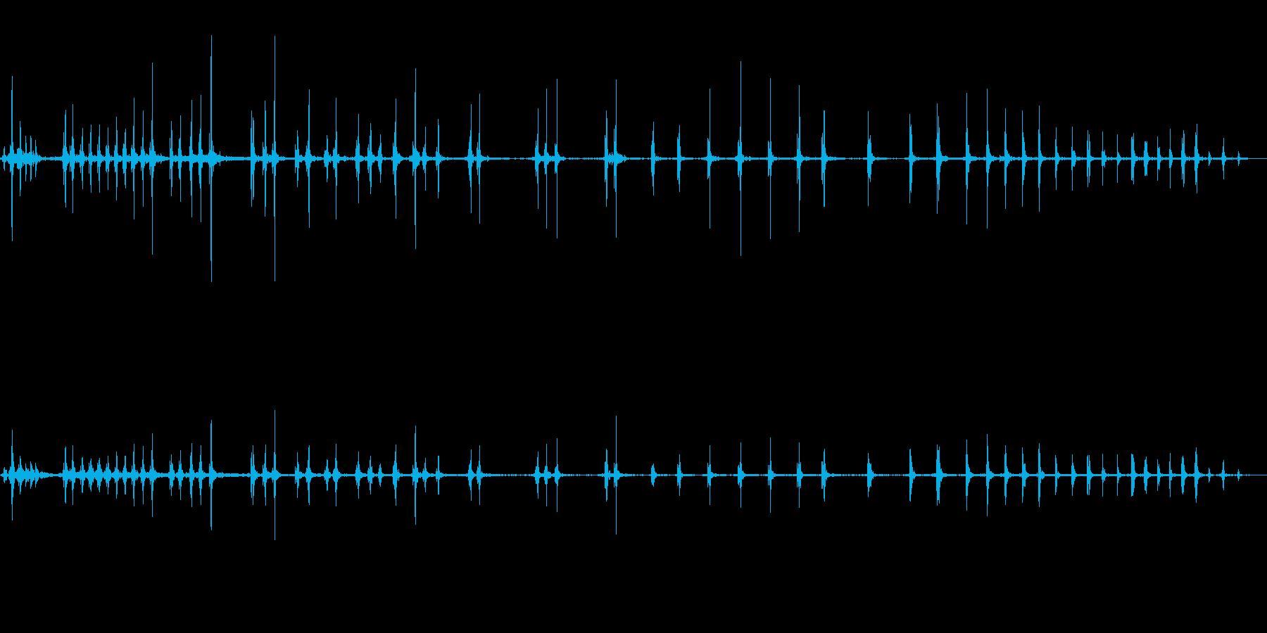 オナラの再生済みの波形