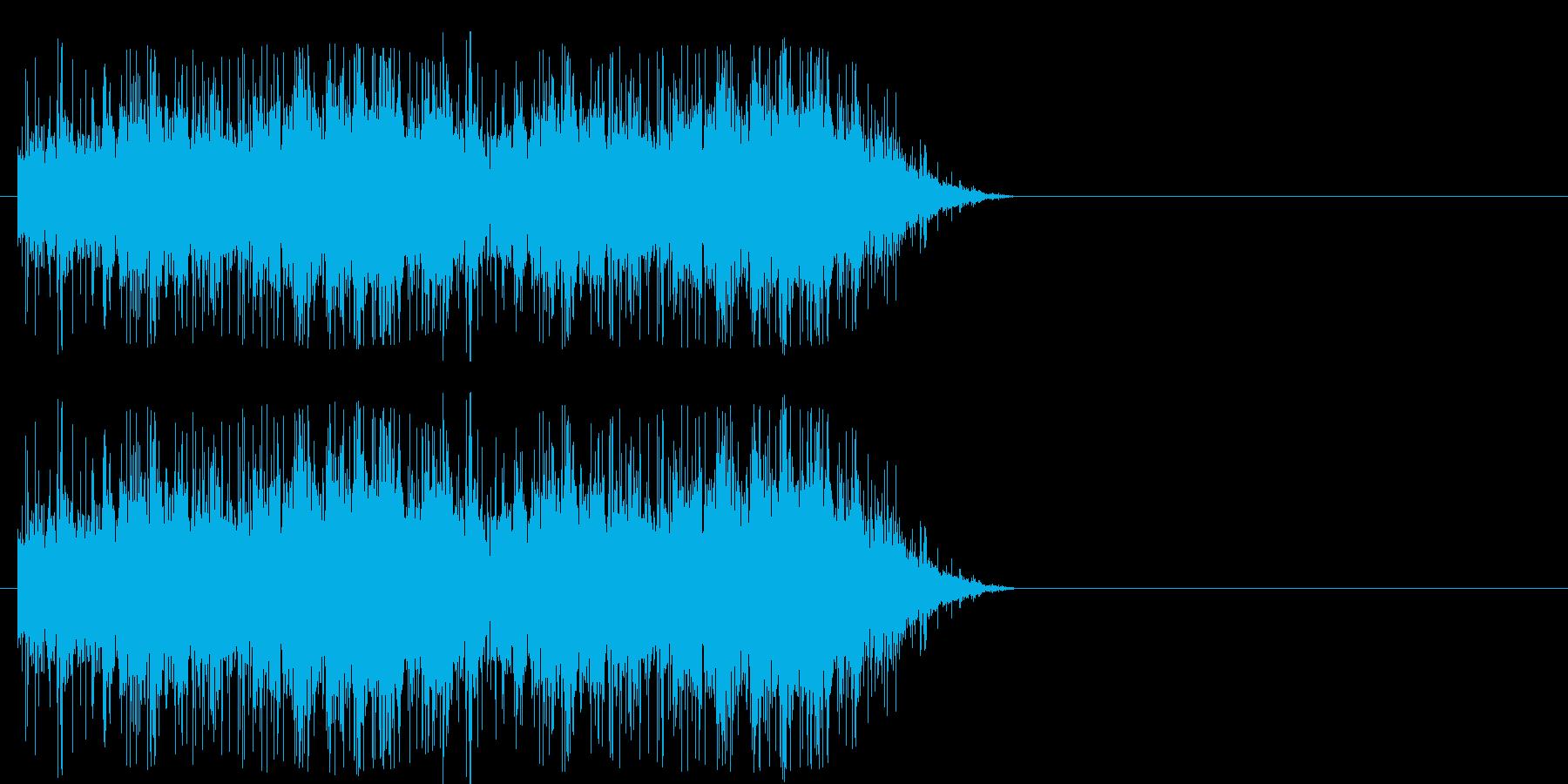 場面 歓声の再生済みの波形