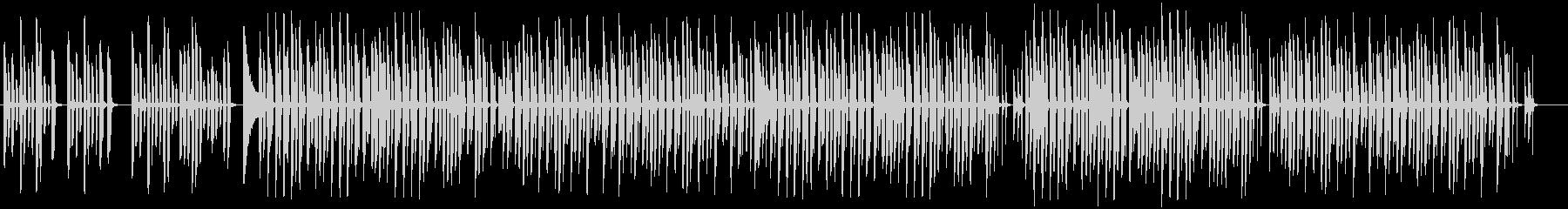 日常系ほのぼのしたBGMの未再生の波形