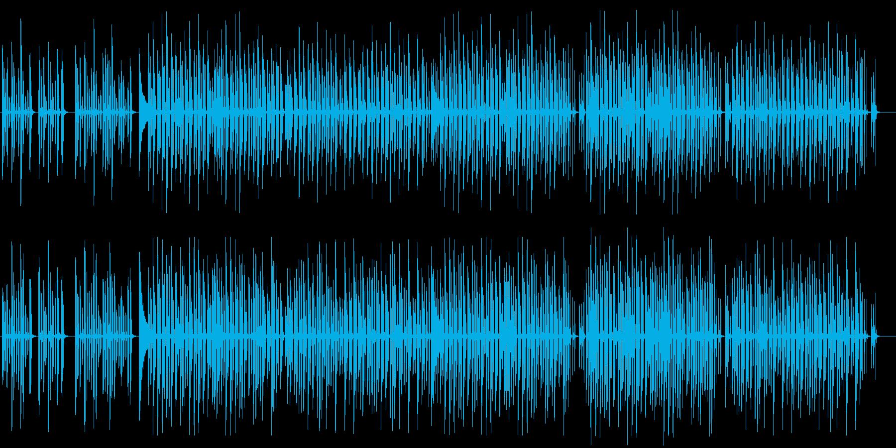 日常系ほのぼのしたBGMの再生済みの波形