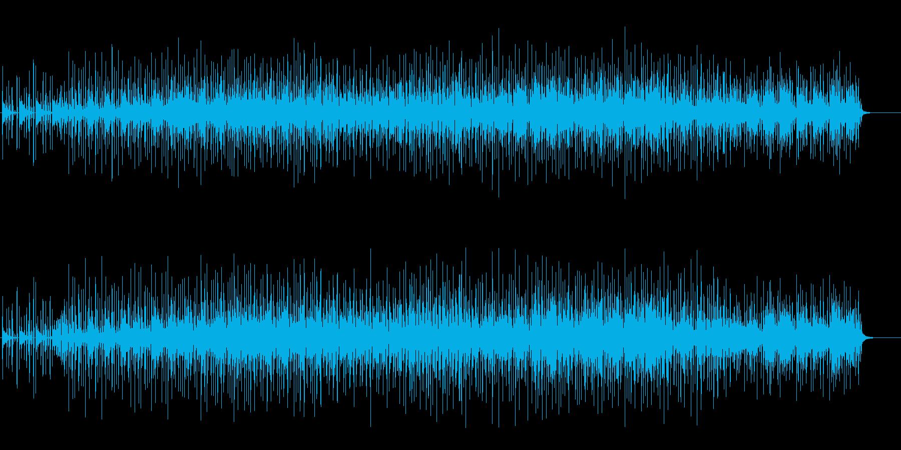 ドライで洗練されたエレクトリックポップの再生済みの波形
