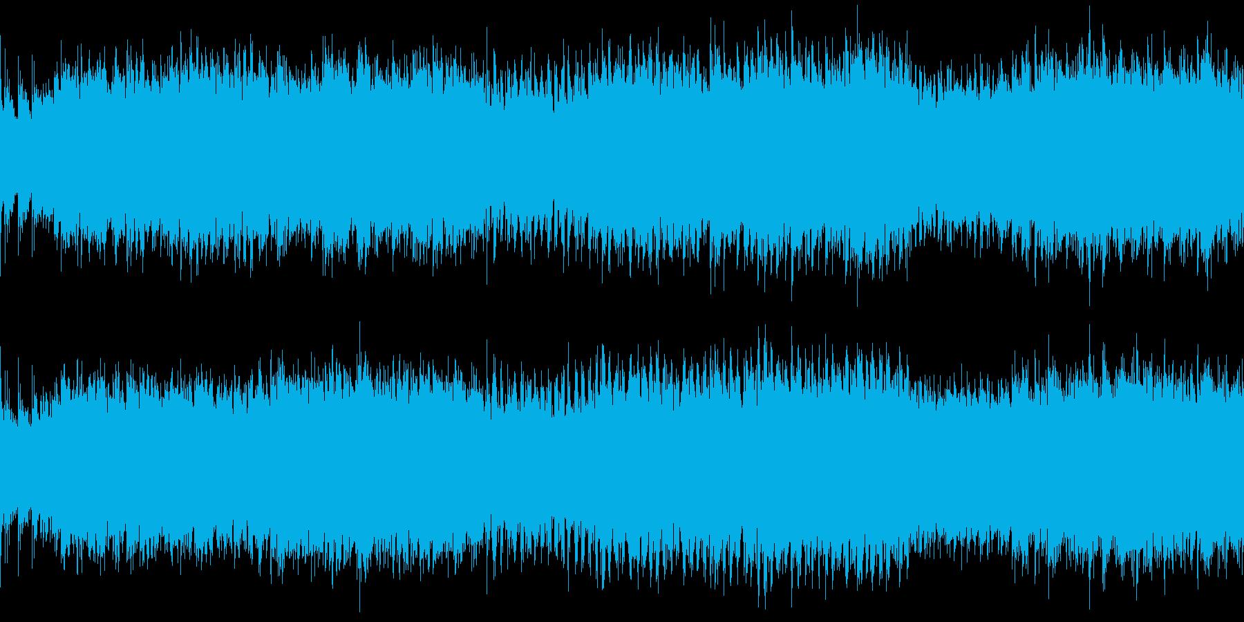 草原をイメージした民族調風のループ曲ですの再生済みの波形