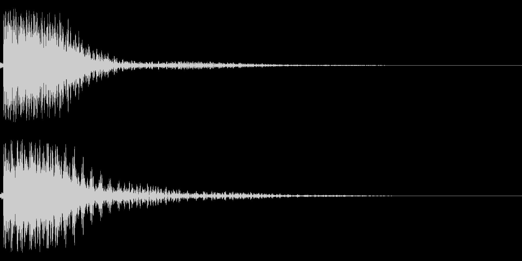 ガシャンー!(ロボ、機械系)の未再生の波形