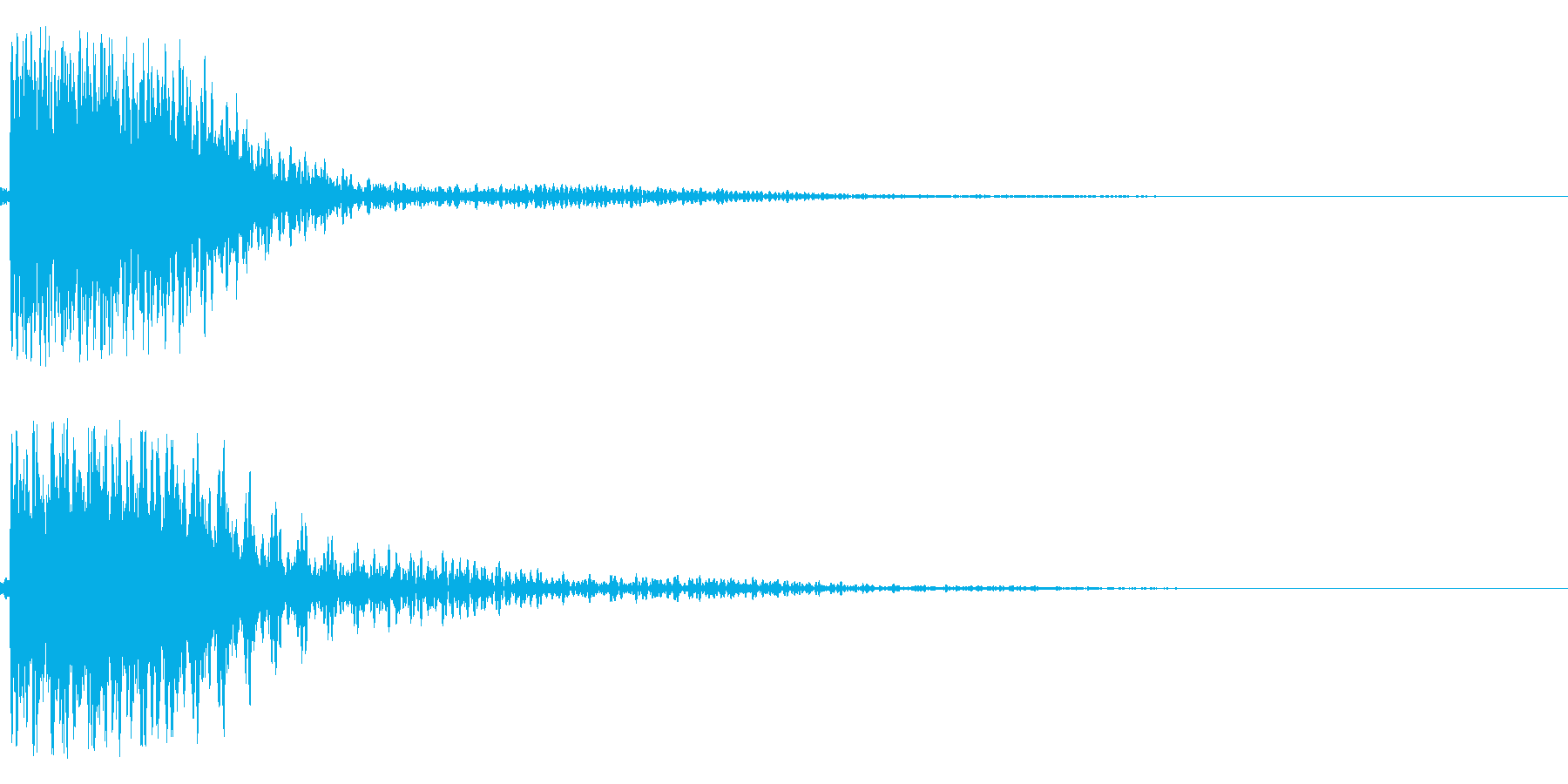 ガシャンー!(ロボ、機械系)の再生済みの波形
