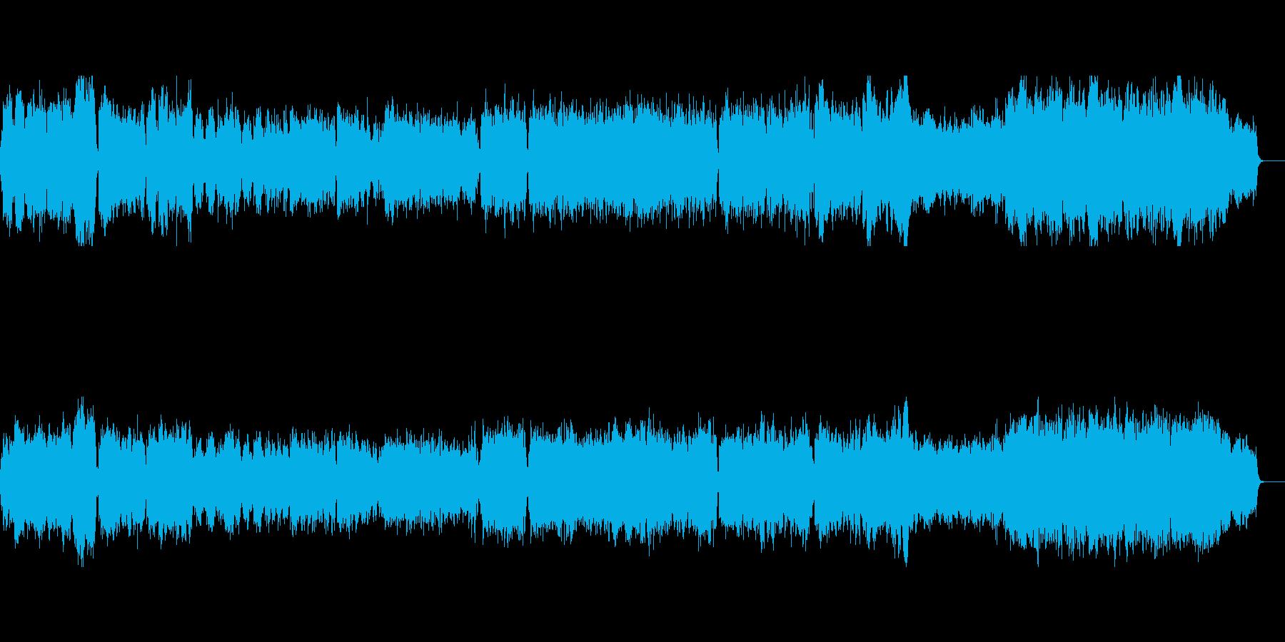 ★緊張感のある緊迫したシーン幻想的BGMの再生済みの波形