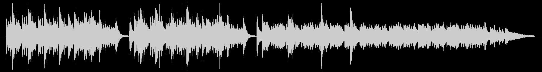 神秘的な雰囲気のピアノ曲です。リバーブ…の未再生の波形