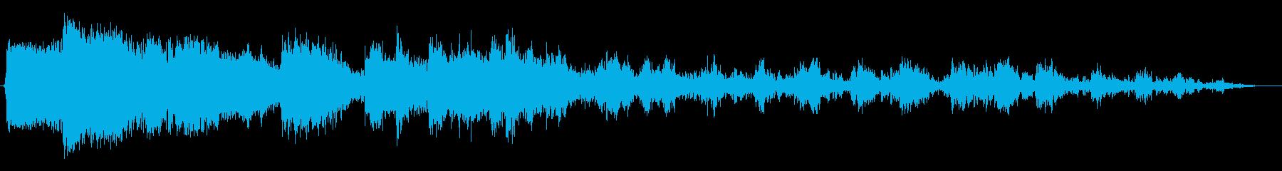 金物落下(コント風)の再生済みの波形