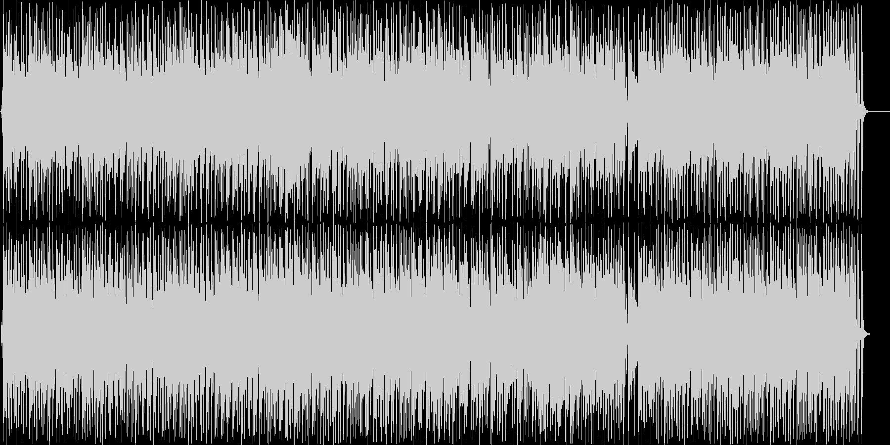 おしゃれな雰囲気のボサノバの未再生の波形
