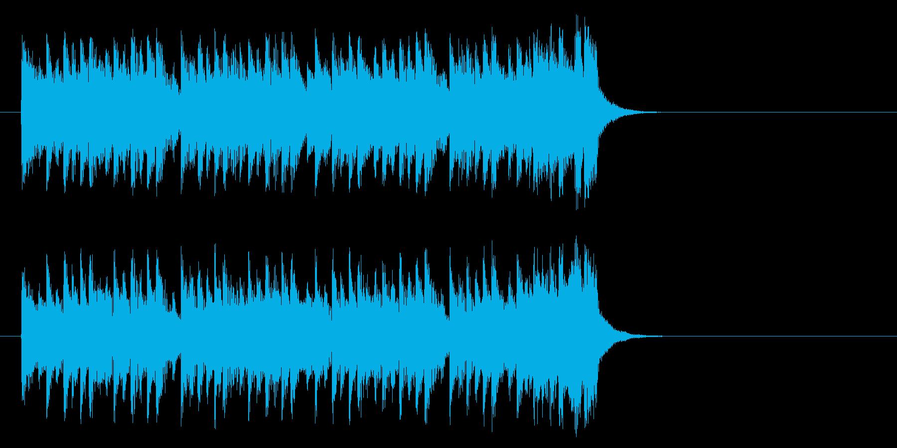 不安をはねのけるポップ(Aメロ)の再生済みの波形