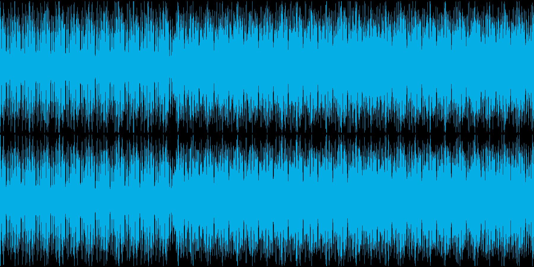 【loop】スポーツやレースに合う爽やかの再生済みの波形