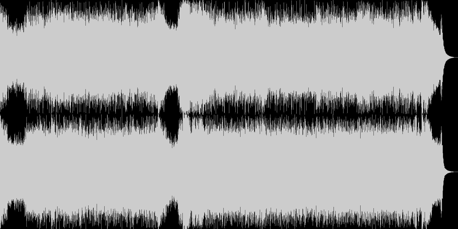 ロック オープニング パンク メジャーの未再生の波形
