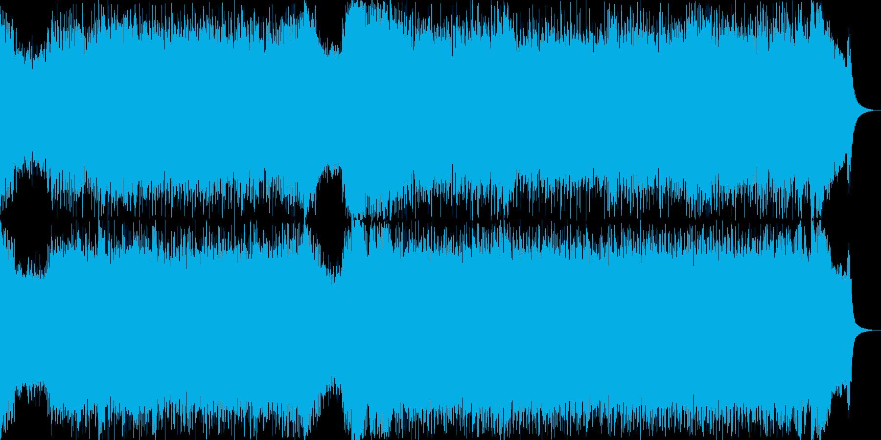 ロック オープニング パンク メジャーの再生済みの波形