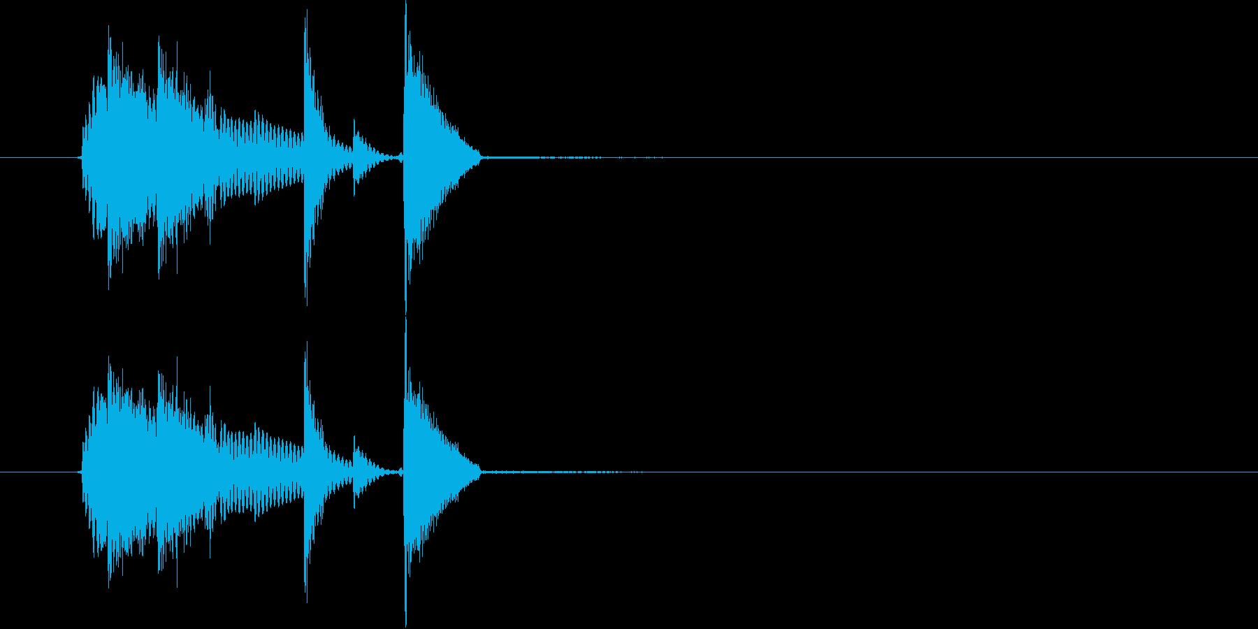 GO(掛け声)の再生済みの波形