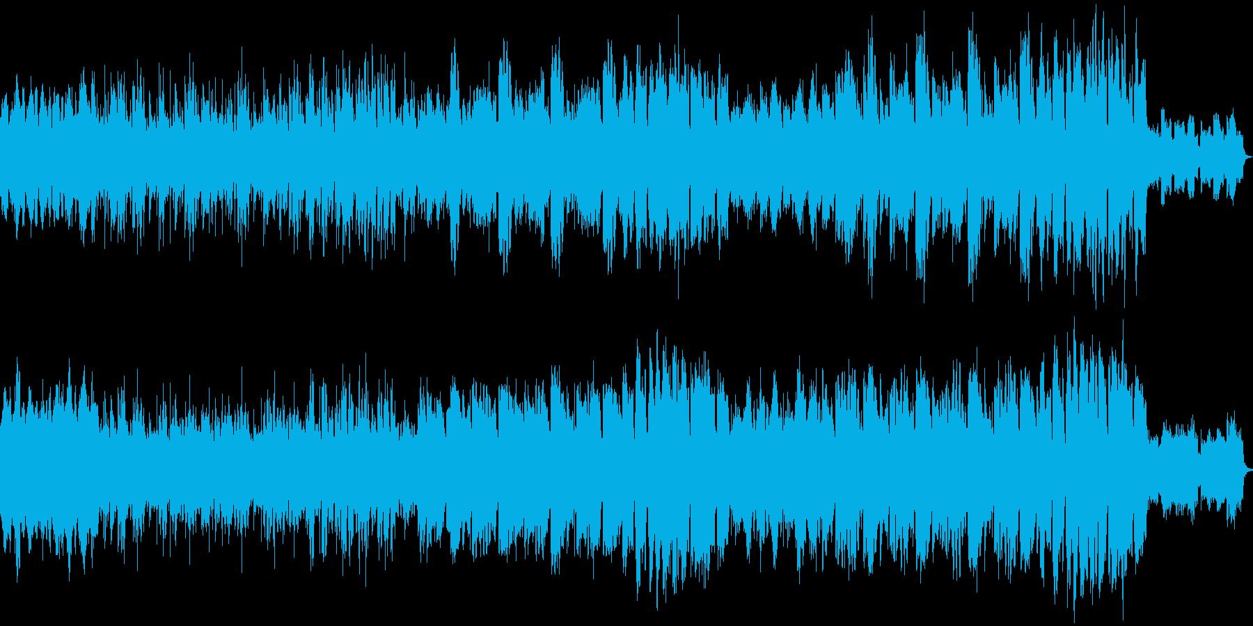 弾むリズムで前向き感のあるジャズ風POPの再生済みの波形
