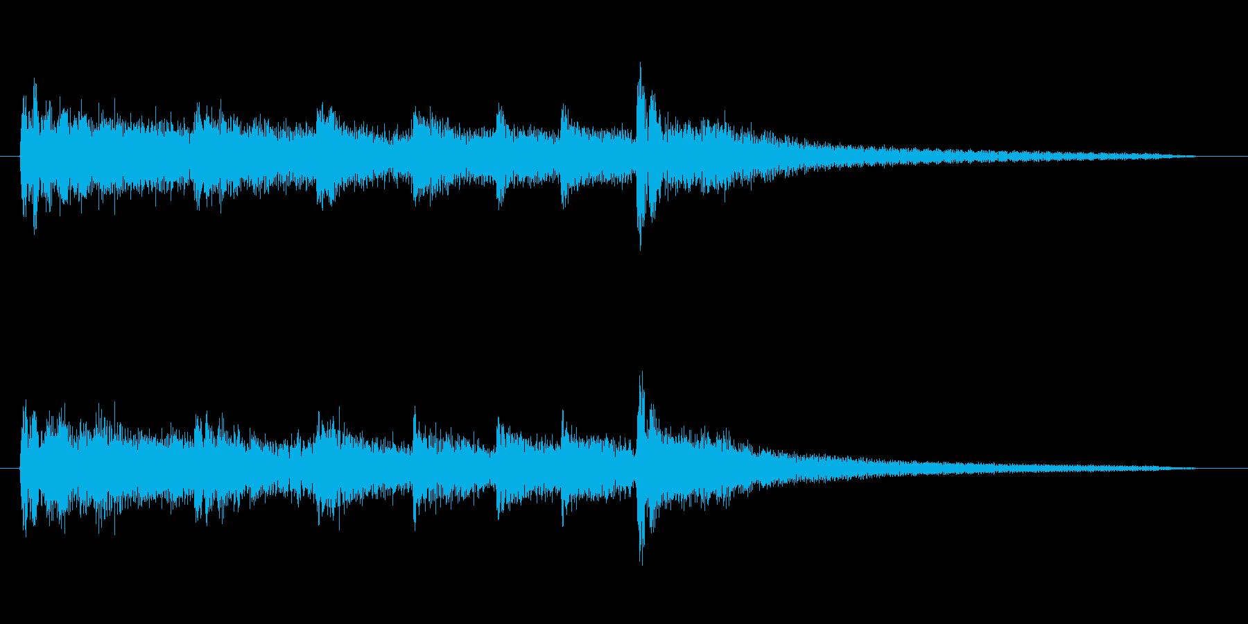 擬音【たりらりたりら〜】【エンコード1…の再生済みの波形