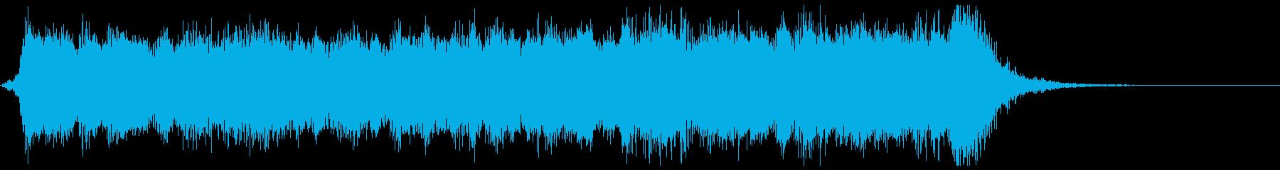 期待が高まるフルオケジングル合唱付の再生済みの波形