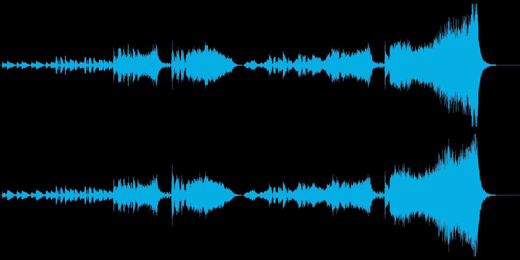 オーケストラのハッピーバースデー 2番の再生済みの波形