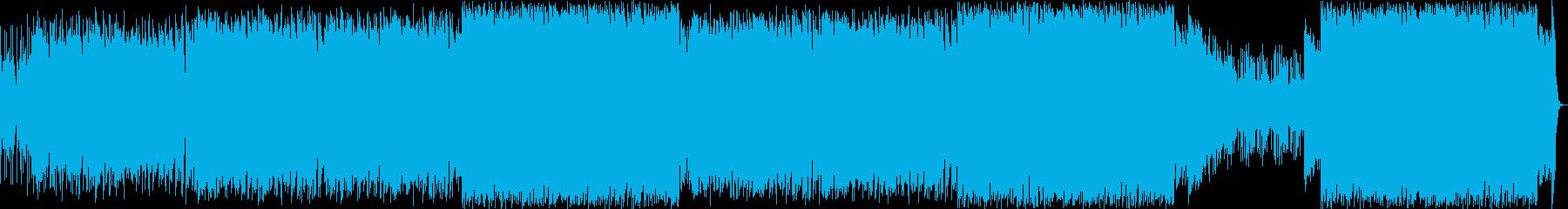 サーフロックの再生済みの波形
