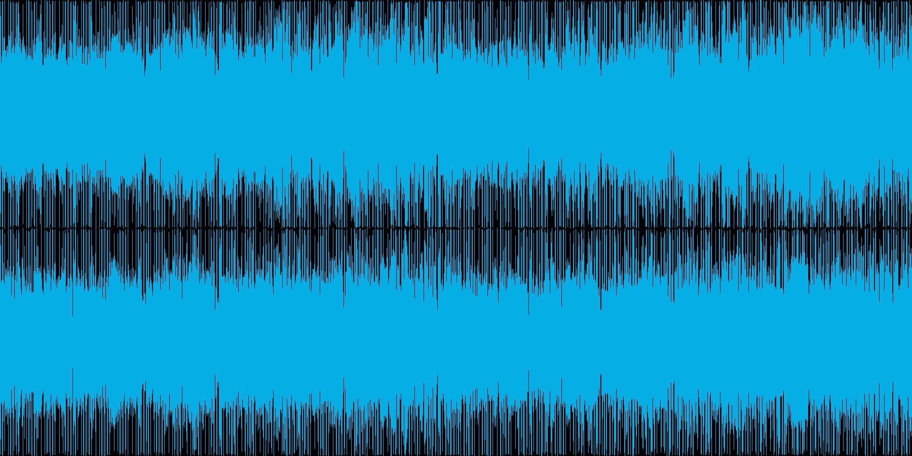ゲームで使えるクールなチップチューンの再生済みの波形