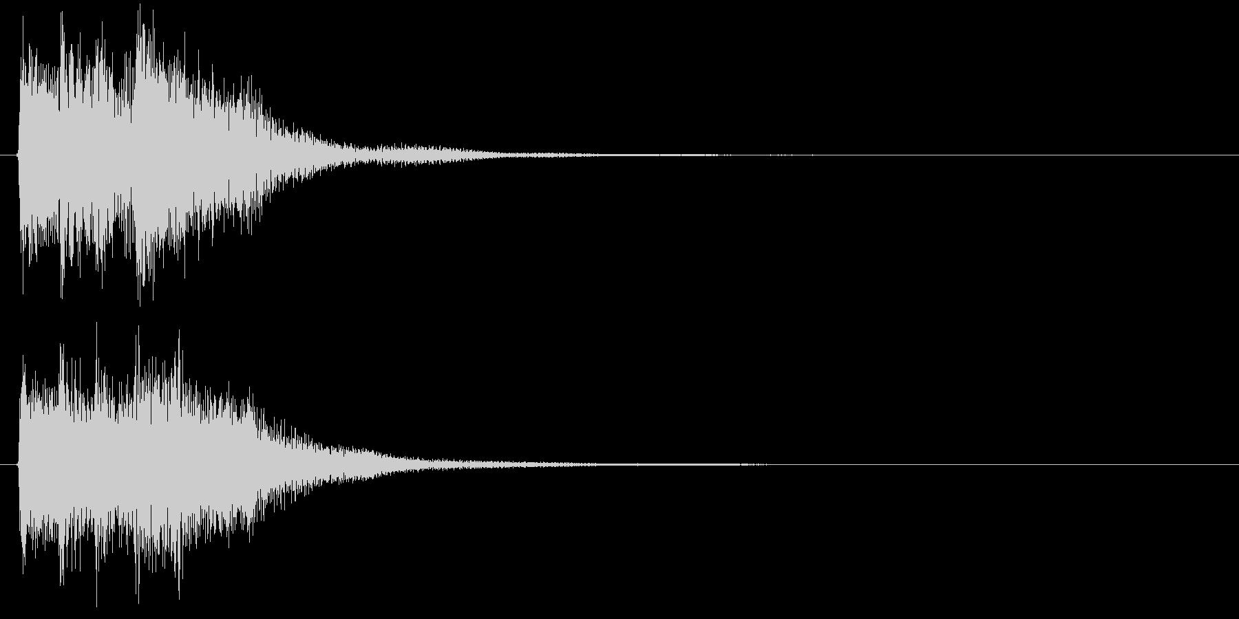 レベル・ステータス変化な効果音 3の未再生の波形