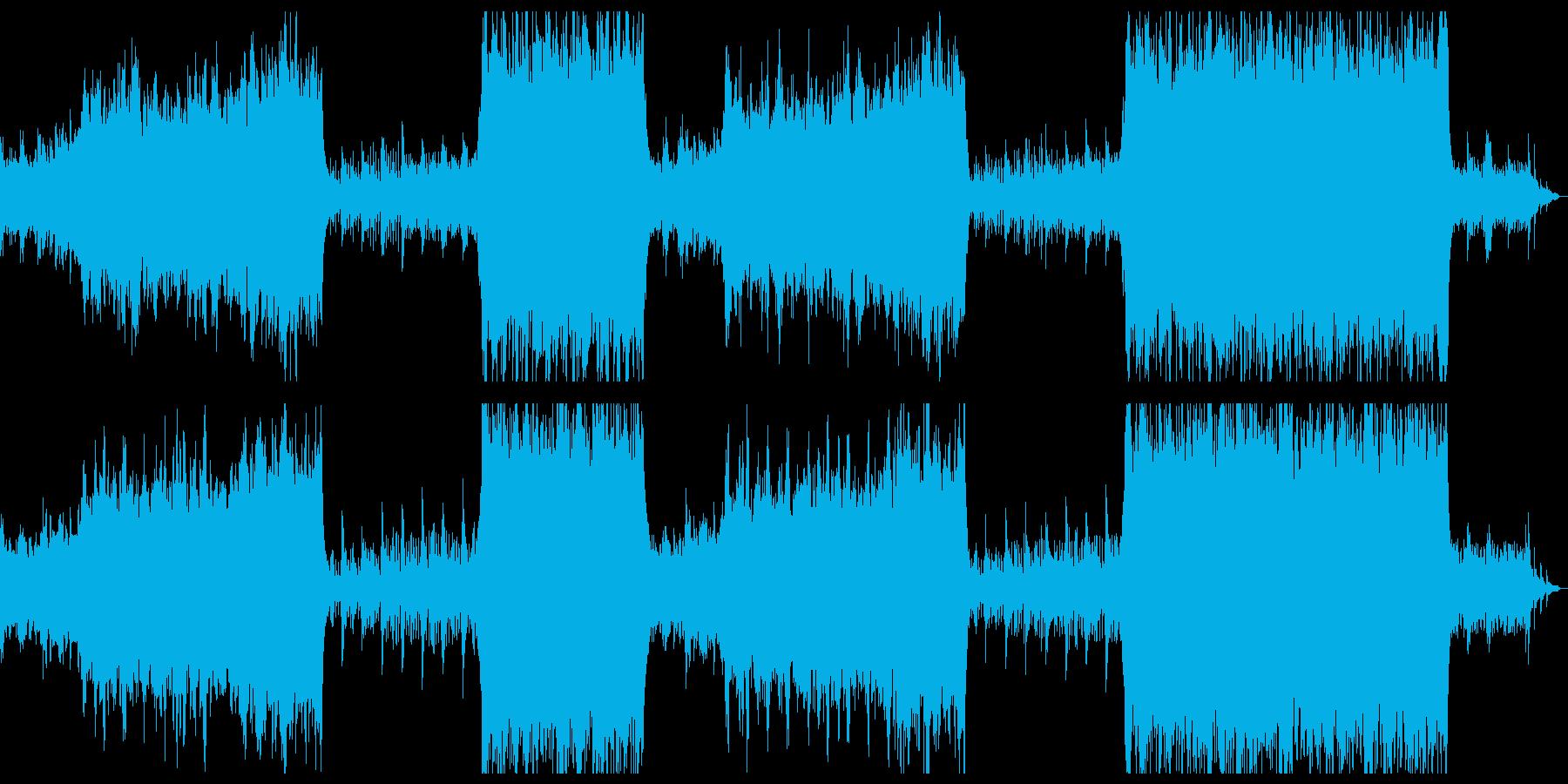 雄大で感動的なシネマティク。の再生済みの波形