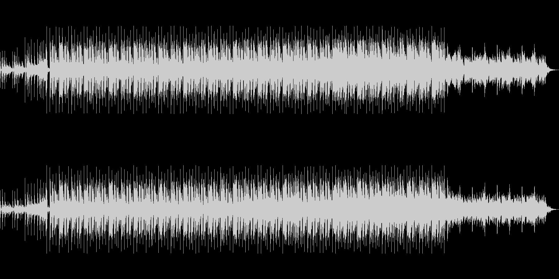 スタイリッシュなCM映像向きテクノポップの未再生の波形